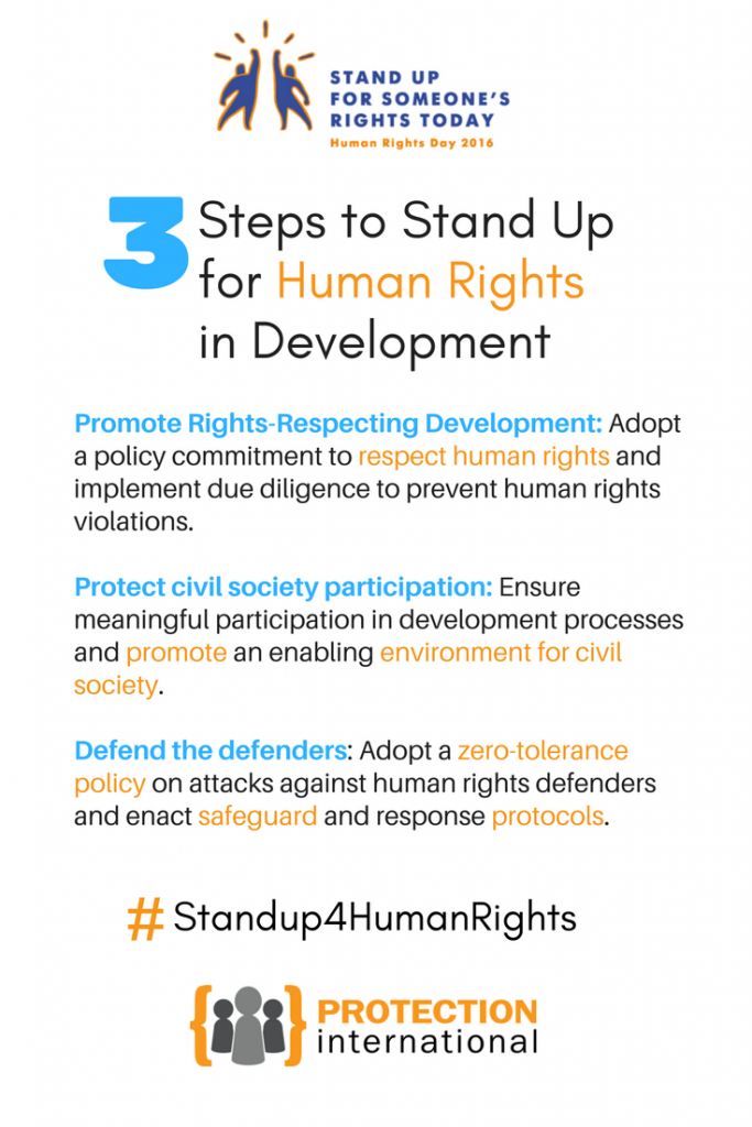 3 Steps to Stand Up for Human Rights in Development(1)